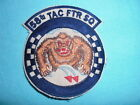VIETNAM WAR PATCH, US 58th TACTICAL FIGHTER SQUADRON
