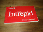 2002 Dodge Intrepid Sedan SE RT SXT ES Owners Manual 03
