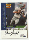 1999 FLEER GREATS OF THE GAME SPORTS ILLUSTRATED STEVE LARGENT AUTO SEAHAWKS