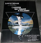 THE MAN WHO FELL TO EARTH large original movie poster DAVID BOWIE 47x63
