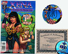 Xena 1 Signed by Jimmy Palmiotti NM Topps 1997 w Certificate of Authenticity