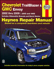 BRAVADA SHOP MANUAL SERVICE REPAIR OLDSMOBILE HAYNES BOOK 2004 2003 2002