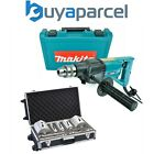 Makita 8406 Diamond Core Drill Rotary Percussion 240V + 10 Piece Core Set + Case