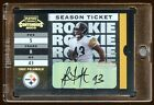 TROY POLAMALU 2003 CONTENDERS RC TICKET AUTO SP 989 STEELERS POLAMALU BEST RC