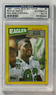 REGGIE WHITE 1987 TOPPS BOX BOTTOMS CARD HOF AUTOGRAPH SIGNED EAGLES PACKERS PSA