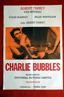 CHARLIE BUBBLES LIZA MINNELLI 1969 ALBERT FINNEY RARE EXYU MOVIE POSTER