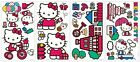HELLO KITTY world wall stickers 32 HK decals flowers room decor