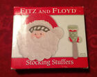 Fitz & Floyd Stocking Stuffers Christmas Holiday Plate Cheese Spreader