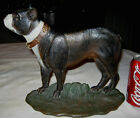 ***PREMIUM!!  ANTIQUE BRADLEY HUBBARD CAST IRON BOSTON TERRIER DOG HOME DOORSTOP