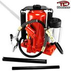 20 TON AIR Over Hydraulic BOTTLE JACK LOW PROFILE Jacks Automotive Lift Tools