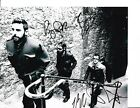 BAND OF HORSES GROUP SIGNED WALKING UP STAIRS 8X10