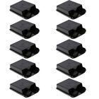 10X New Battery Pack Cover Shell Case for Xbox 360 Wireless Controller Black
