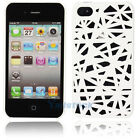 "Hot Bird""s Nest Style Plastic Hard Case Cover for iPhone 4 4G 4S Real White"