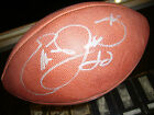 EMMITT SMITH DALLAS COWBOYS SIGNED FOOTBALL 75TH ANNIVERARY JSA AUTHENTICATED