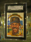 1983 DIAMOND KINGS #8 WILLIE STARGELL PITTSBURGH PIRATES SIGNED CARD SGC AUTO