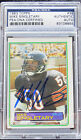 MIKE SINGLETARY 1983 TOPPS HOF RC ROOKIE CARD #38 SIGNED AUTOGRAPH BEARS PSA