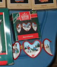 HALLMARK HEART OF CHRISTMAS ORNAMENT SECOND IN A SERIES WITH SANTA 1991