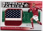 Omar Cummings 2011 UD SP Game Used Soccer Supreme Fabrics Logo Patch Card 10 15