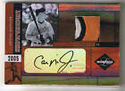 CAL RIPKEN JR. 05 LEAF LIMITED AUTOGRAPH PATCH # 13 25 ORIOLES HOF