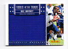 Dez Bryant 2012 Panini Black Friday Tools of the Trade Equipment Bag Relic Card