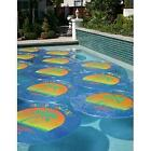 Solar Sun Rings Palm Tree Pattern Solar Pool Heating Cover  6 Pack