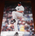 ROGER CLEMENS Signed Auto New York Yankees 11x14 Photo JSA COA