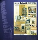 Butterick 5160 Waverly Sewing Room Items Pattern