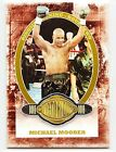 Michael Moorer 2011 Ringside Boxing Round 2 Victorious Gold Base Card 9 #186