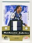 Shalrie Joseph 2011 UD SP Game Used Soccer Authentic Fabrics Patch Card 19 35