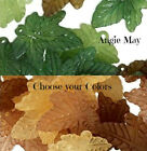 100 Pretty Frosted Lucite Acrylic Oak Leaf Charm Mix Pick your colors