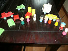 LARGE LOT VINTAGE VERY RARE HTF RUBBER PEANUT SNOOPY  HONG KONG 50'S 60'S
