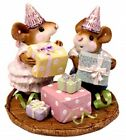 Wee Forest Folk M 224a Party Kids Green Ribbon