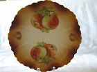 Porcelain ROYAL FIRENZE Display Plate, Vintage - APPLES,Autumn Colors