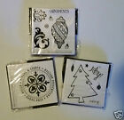 Assorted Christmas Stamps Unmounted Rubber 250 Each Free Shipping NIP