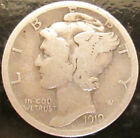 1919 Mercury Silver Dime! A great coin for your collection!