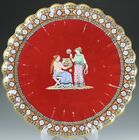 Rare and Unique Spode 19th Century Chelsea Shape Red Plate For Burley