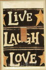 Primitive Country Live Laugh Love Single toggle Switch plate cover