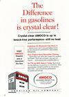 1961 Amoco Gasoline -  Classic Vintage Car Advertisement Ad J35