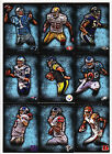 27 Different 2012 Topps Inception Football Blue Parallel Base Card Lot 252