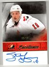 10 11 STEVE YZERMAN THE CUP PROGRAMME OF EXCELLENCE AUTO #3 10 TEAM CANADA PE-SA