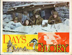 DAYS OF GLORY 11x14 GREGORY PECK/TAMARA TOUMANOVA original1944 lobby card poster