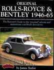 ORIGINAL ROLLS ROYCE BENTLEY BOOK MANUAL TAYLOR RESTORATION SILVER