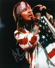 Axl Rose Guns N' Roses Signed 8x10 Photo Proof