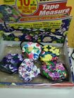 Floral Design Tape Measure 10 Ft.  #33776 Great Gift Idea   NEW