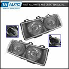 Headlights Headlamps Left  Right Pair Set of 2 for 92 99 BMW E36 3 Series