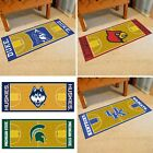 Choose Your NCAA Team 30 x 72 Basketball Court Runner Area Rug Floor Mat