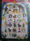 Dimensions Christmas Felt Applique ADVENT CALENDAR Kit NATIVITY8149Morehead