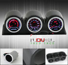 AIR FUEL RATIO GAUGE + TURBO BOOST + TACHOMETER + SMOKE DISPLAY CF POD HOLDER