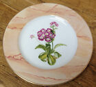 Purple Flowers Sigma Tastesetter Irish Garden 1005 Connolly Dessert Salad Plate