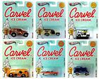 2012 Hot Wheels Nostalgia Carvel Ice Cream Set of 6 164 Scale Diecast Vehicles